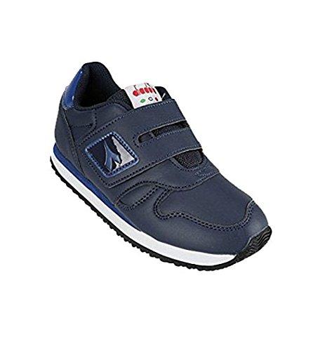 Diadora - Zapatillas de Piel para niño azul turquesa