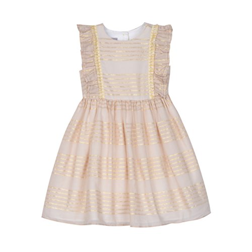 Fancy Frock For Baby - Pastourelle Baby-Girls' Sleeveless Apron Party Dress,