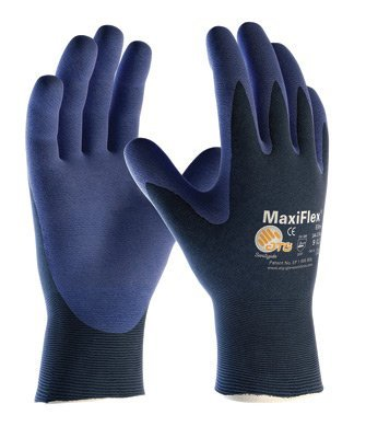 Protective Industrial Products® Large MaxiFlex® Elite by ATG® Ultra Light covid 19 (Seamless Knit Nylon Liner coronavirus)