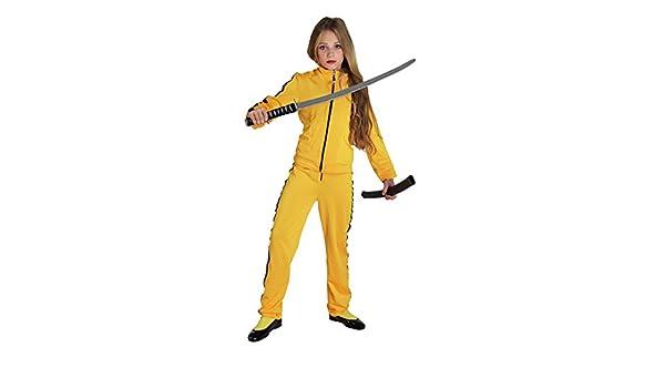 chiber Disfraces Disfraz de Kill Bill para niña (Talla 6): Amazon ...