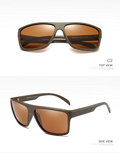 Hombre Polarizadas De C2 C3 Protección 400 para Aviator Gafas Mujer para Sol UV Z0xCCFwq