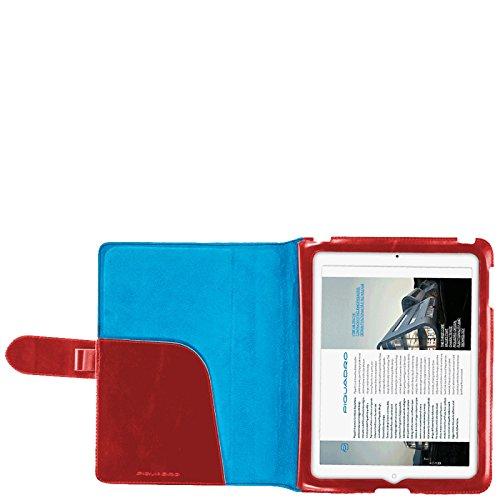 Leggio Blu A Vera Pol Custodia Square Ipad Porta Azzurro Linea Piquadro Pelle qtwqEv6X
