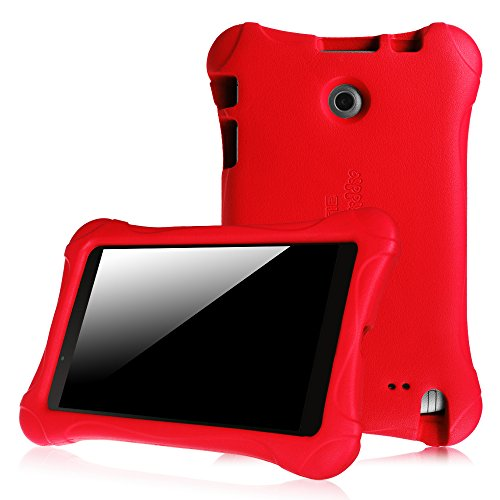 Fintie LG G Pad F 8.0 / G Pad II 8.0 Kiddie Case - Ultra Light Weight Shock Proof Kids Friendly Cover [Fit 4G LTE AT&T V495/T-Mobile V496/US Cellular UK495] & [G Pad 2 8.0 V498] 8-Inch Tablet, Red (Lg Tablet Case Kids)