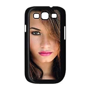 Demi Lovato funda Samsung Galaxy S3 9300 caja funda del teléfono celular del teléfono celular negro cubierta de la caja funda EEECBCAAL02809