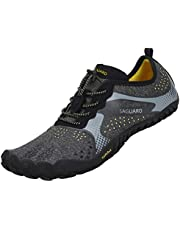 2e0a7d7ab2c4 SAGUARO Chaussures de Trail Running Homme Femme Chaussures Minimalistes  Chaussures de Sport Outdoor & Indoor Gym