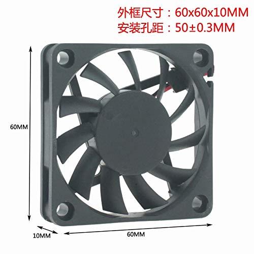 REFIT DC12V 6CM 6 cm cm 60MM 60x10 Durable Double Ball Long Life Cooling Fan