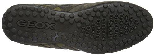 Geox Snake K, Scarpe da Ginnastica Basse Uomo Braun (Taupec6029)