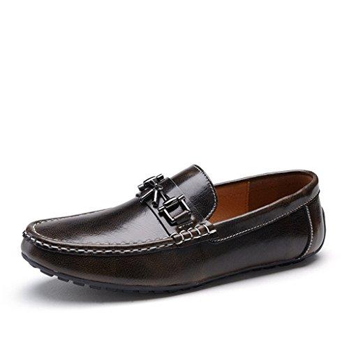 Minitoo - Sandalias hombre marrón - bronce claro