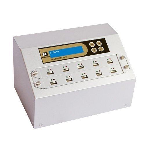 U-Reach UB910G Intelligent 9 Series Gold Factory Series 1-9 Target USB Flash Memory/Pen Drive/External USB Hard Drive Duplicator