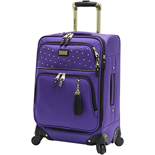 steve-madden-carry-on-20-expandable-softside-luggage-with-spinner-wheels-20in-rock-studs