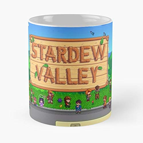 Amazon com: Indie Game Stardew Valley - Best Gift Mugs
