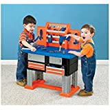 American Plastic Toy 38 Piece Deluxe Workbench