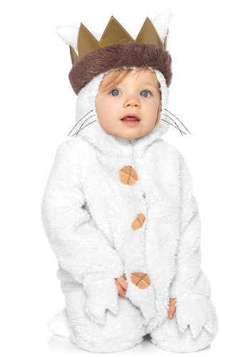 Toynk Toys Halloween Costumes (Leg Avenue Baby's Where The Wild Things Are Max Costume, Cream, 18-24 Months)
