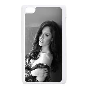 iPod Touch 4 Case White Carlotta Maggiorana Model Dark Sexy K3I6RP