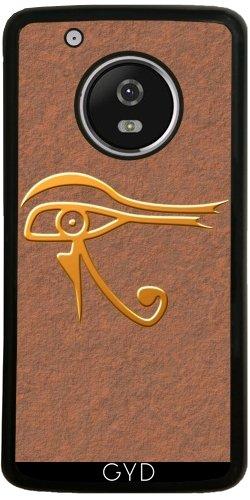 Funda de silicona para Moto G5 Plus - Horus Ojo by hera56