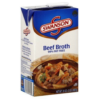 Swanson Broth Beef, 32 Oz (2 Pack)