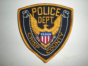 Crisp County, Georgia Police Department Patch by HighQ -