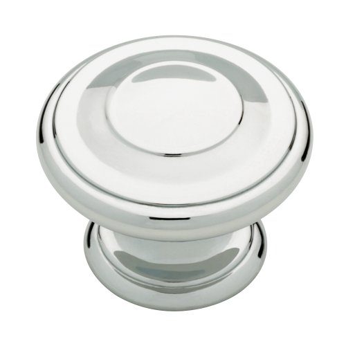 Liberty P22669-PC-C 1-3/8-Inch Harmon Kitchen Cabinet Hardware Knob, Polished Chrome
