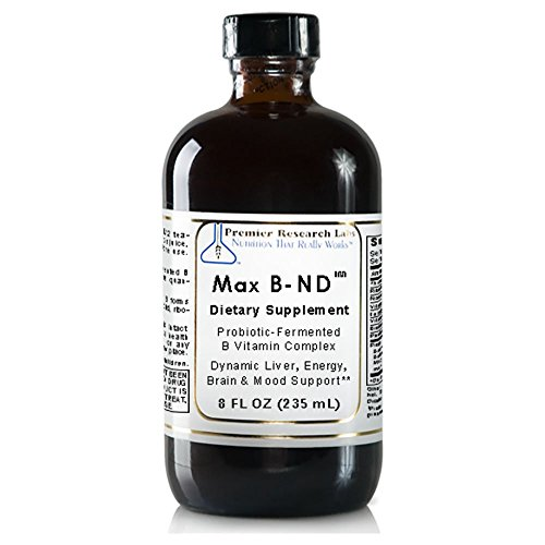 Premier Max B-ND Probiotic Fermented 24 Oz - 3 Bottles by Quantum / Premier Research