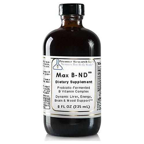 Premier Max B-ND Probiotic Fermented 32 Oz - 4 Bottles by Quantum / Premier Research