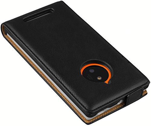 mumbi PREMIUM Leder Flip Case für Nokia Lumia 830 Tasche 85TrHhlw
