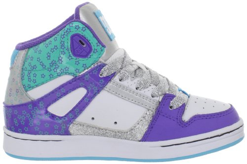 Mode m white Rebound Baskets Silver Blanc Dc Shoe Garçon Shoes argenté D0302676b Youth 4wnHPYq
