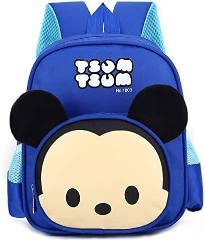 Cartoon Tsum Tsum Kindergarten School Bag Boy 2-5 Years Old Child Child Backpack Female Cute Mickey Backpack Toddler Must Haves Gift Baskets Boys Favourite Characters Superhero Toys Lol Unboxed