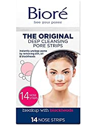 Bioré Most Trusted Blackhead Removing and Pore Unclogging Deep Cleansing Pore , 14 Count