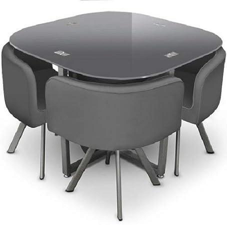 GIOVANNI MARCHESI Ensemble Table de Repas et 4 chaises, Long Larg 100 H 75 cm