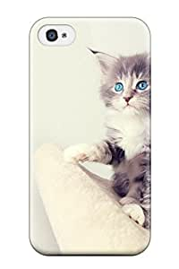 Coy Updike's Shop 7674467K44640629 Snap-on Cute Kittens Case Cover Skin Compatible With Iphone 4/4s