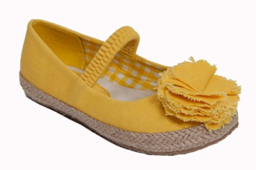Launch Baby Girls Lulu Flat Size:4 Toddler Yellow