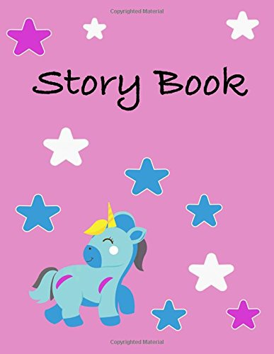 Story Book: Story Paper With Lines And Box To Draw In/Picture Story (Halloween Story Writing Paper)