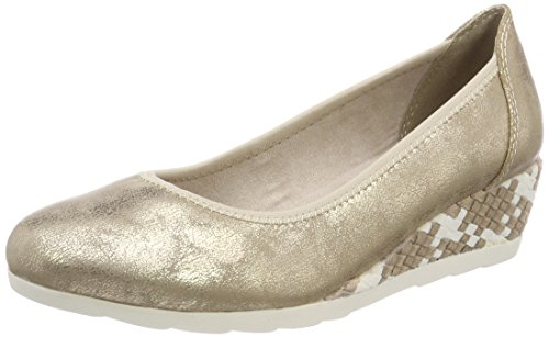 Softline Damen 22363 Pumps gold (platinum)