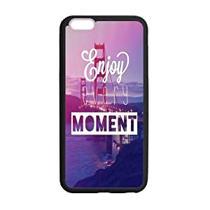the Case Shop- Life Motto Quotes TPU Rubber Hard Back Case Silicone Cover Skin for iPhone 6 Plus 5.5 Inch , i6pxq-366