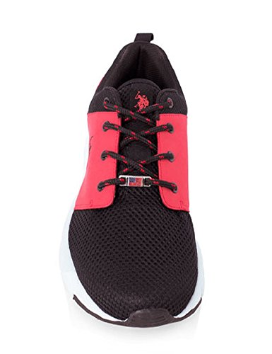 .S. Polo Assn. Clinch Athletic Sneaker Red and Black uTr2ubUwD