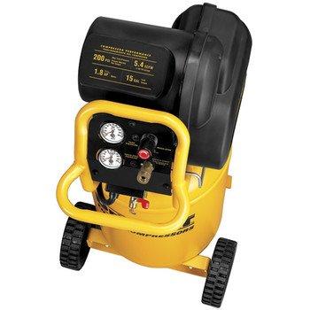 028877575544 - DEWALT D55168 200 PSI 15 Gallon 120-Volt Electric Wheeled Portable Workshop Compressor carousel main 1