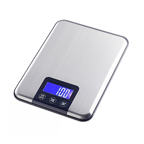 JTHKX Touch The Button 15 Kg X 1G Portable Digital Scale Weight Balance...