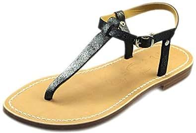 La Botte Gardiane Black Comfort Sandals Sandal For Women