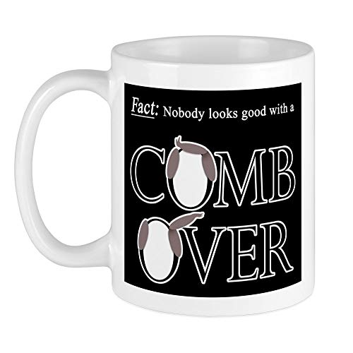 CafePress Combover Facts Mug Unique Coffee Mug, Coffee Cup