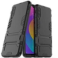 Capa Anti Impacto Armor Militar+ Película Vidro Full Glue 9d Xiaomi Mi A3 (CAPA ANTI IMPACTO ARMOR PRETA+PELÍCULA DE VIDRO FULL GLUE 9D PRETA)