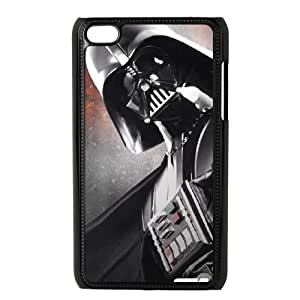 Cute TPU Darth Vader is Coming iPod Touch 4 Case Black