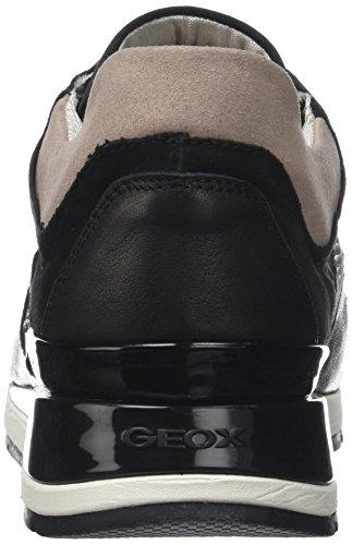 D Baskets Noir Femme B black Shahira Geox 0wCqgnHw