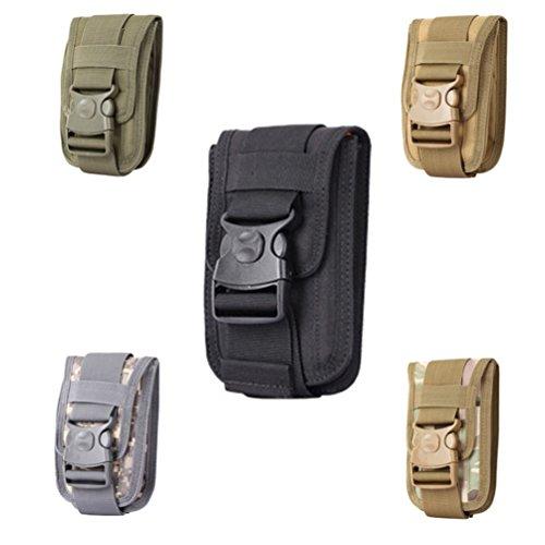 Camping Wandern Tactical wasserdicht Taille Tasche Militär Tasche MOLLE Handy Halter–ACU amesii Acu