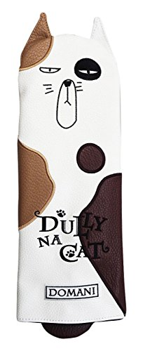 DULLY NA CAT GOLF JAPAN DRIVER HEAD COVER {DOMANI} by Dully Na