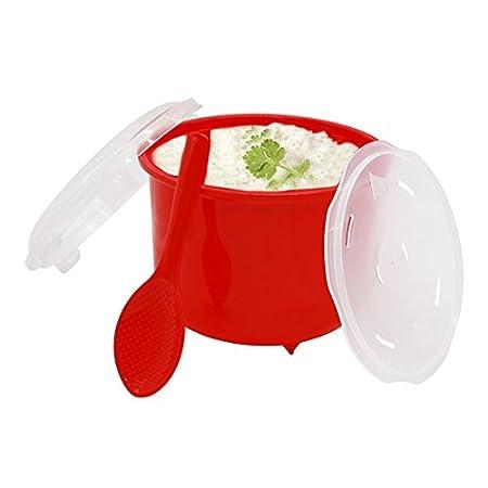 FunnyTod365 - Vaporera de plástico para microondas con tapa ...
