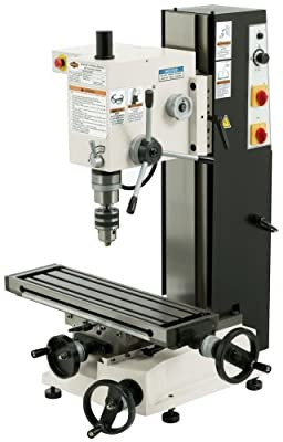 SHOP FOX M1110 6-Inch by 21-Inch Variable Speed Mill and Drill