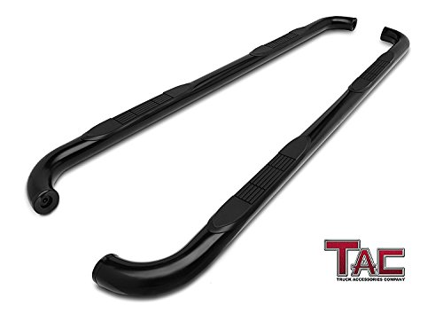 TAC Side Steps Fit 2011-2019 Dodge Durango 3 inches Black Side Bars Nerf Bars Step Rails Running Boards Off Road Automotive Exterior Accessories (2 Pieces Running Boards)