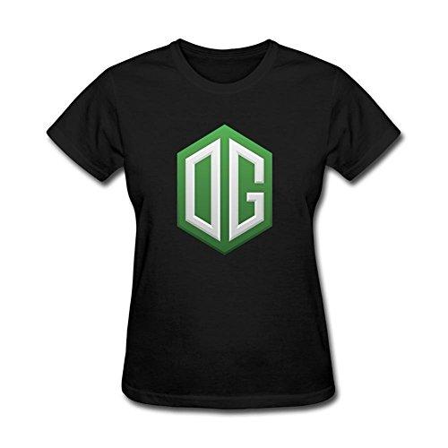 JXK Women's OG Logo DOTA2 T-shirt Size L ColorName