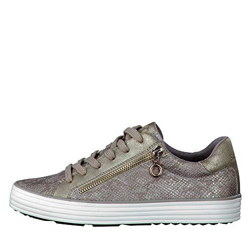 23615 Mujer metallic Zapatillas oliver S Para Grau qB8wf5O1