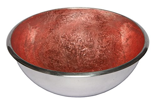 Melange Home Decor Classic Collection, 7.75-inch Bowl, Color - Pink Gold